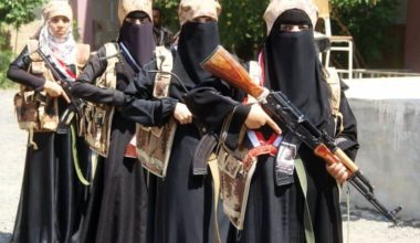 Yemen Girls With Guns