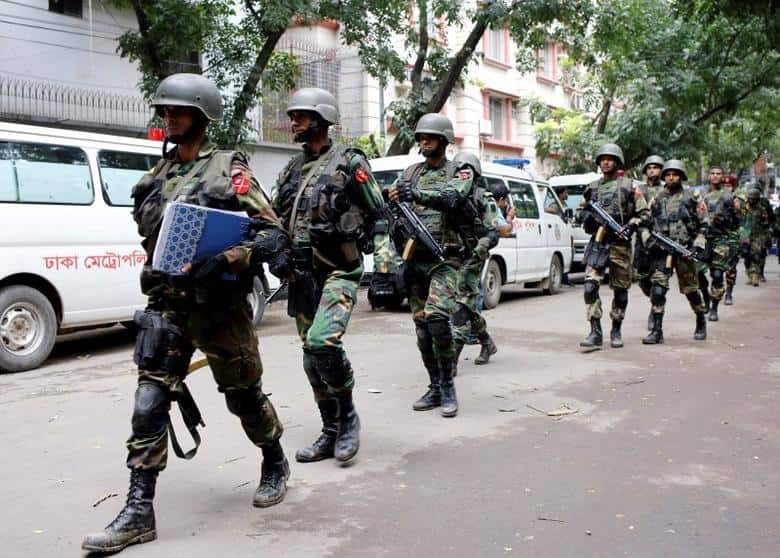 Islamist Militants Kill 20 In Bangladesh Before Commandos End Siege