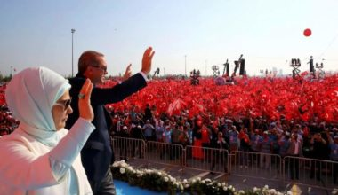 Turkey's Erdogan Stages Mass Rally in Show of Strength After Coup