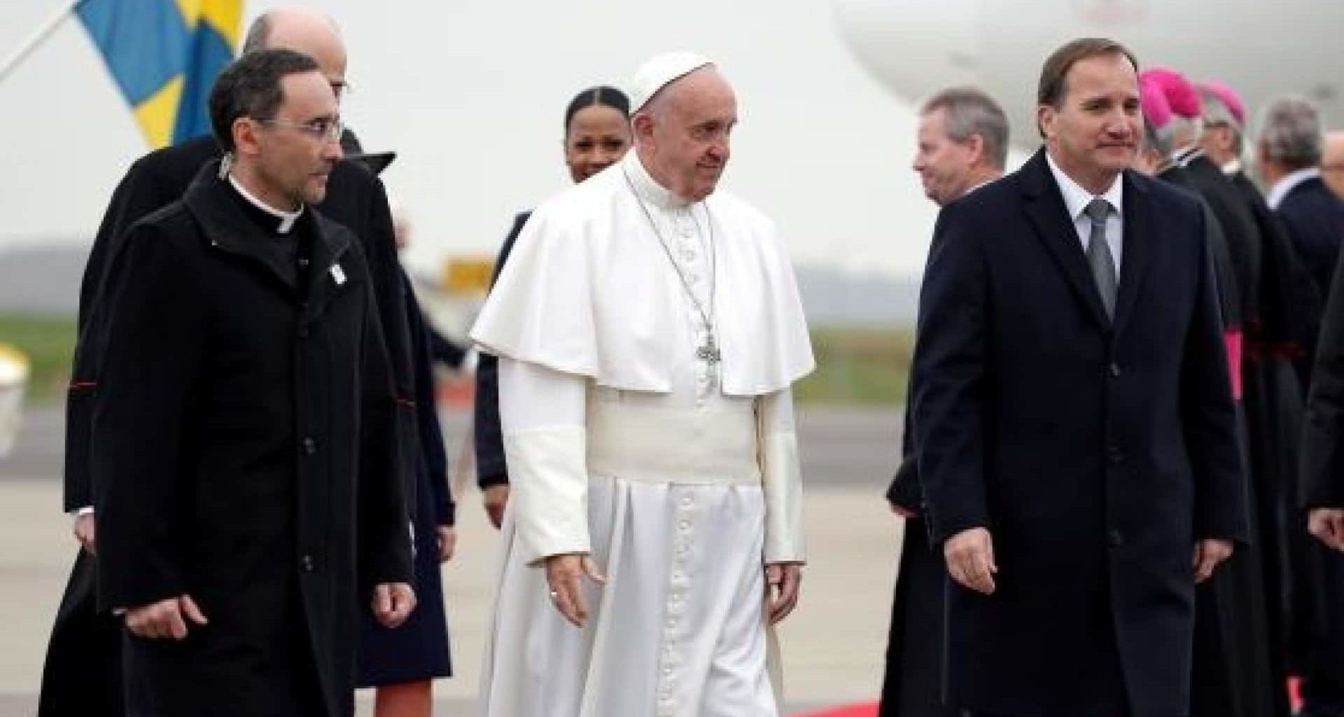 Pope Heads to Sweden to Commemorate Martin Luther