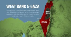 where is palestine - west bank and gaza strip