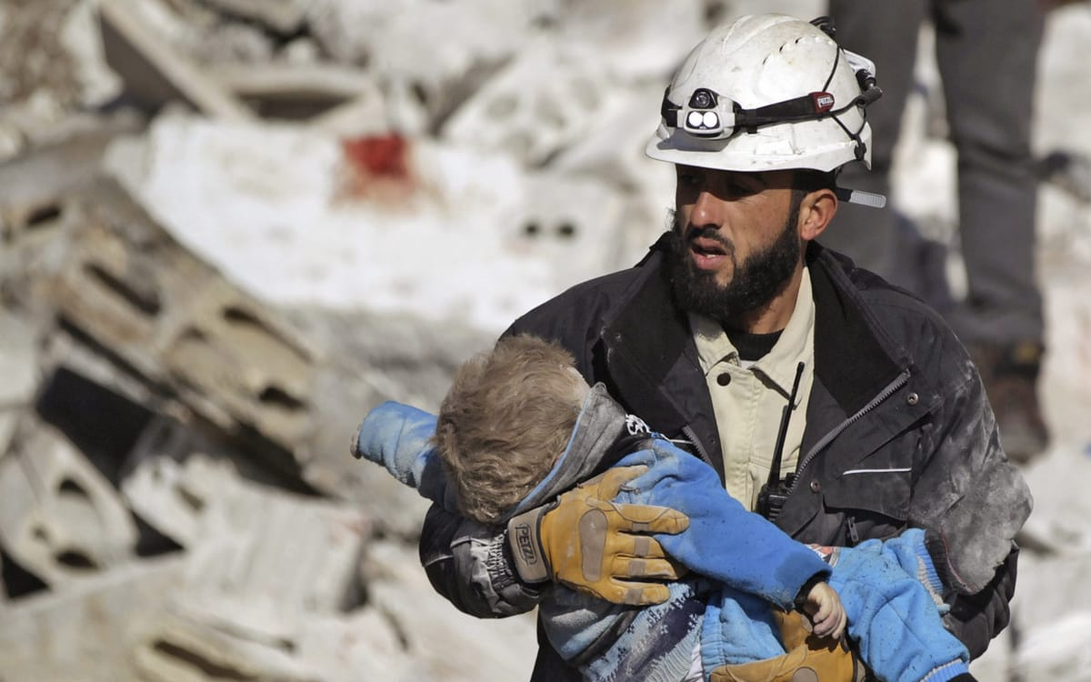 White Helmets Most Dangerous Job in the World