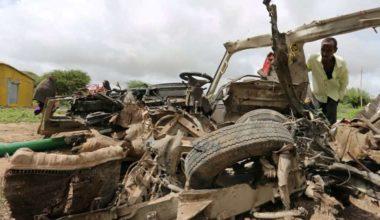 Suicide Bombers Kill Seven
