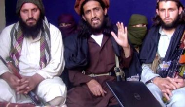 Taliban Fighters Enter