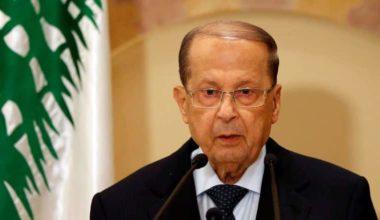 Lebanon's Aoun