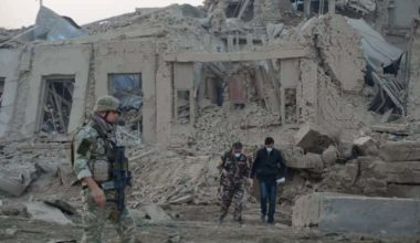 Explosion at NATO