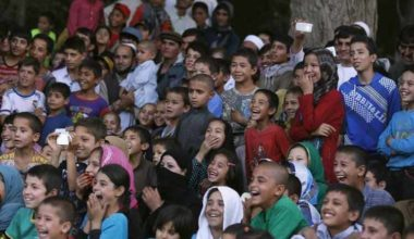 After Taliban Music Ban Songbook Teaches Afghan Children to Sing Again1