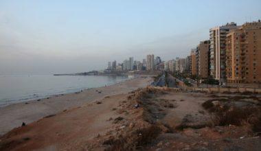 Barricades on the Beach