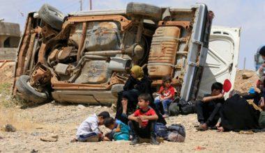 Civilians Lack Food, Water, Medicine