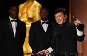 Jackie Chan 'Finally' Wins Oscar