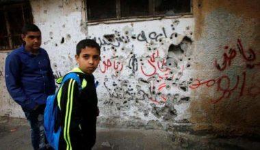 In a West Bank Refugee Camp Political Struggle Turns to Violence
