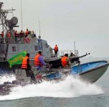 Irans Revolutionary Guards Question U.S. Sailors Dismiss Talk of Prompt Release