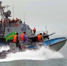 Iran's Revolutionary Guards Question U.S. Sailors