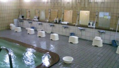 "Japan Bathhouse Offers ""Naked School"""