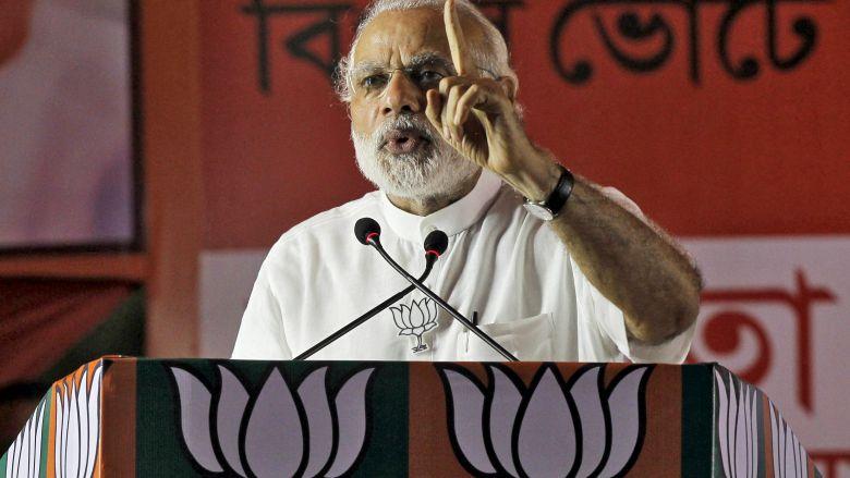 Modi's 56-Inch Chest Bind