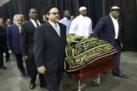 Funeral in Muhammad Ali's