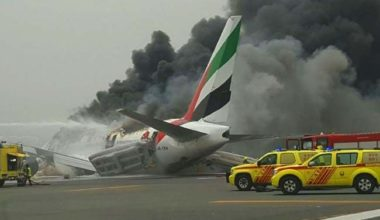 Passengers to Sue Boeing over Emirates Crash at Dubai Airport