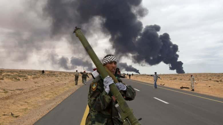 Libya Off the Shoulder Slaughter