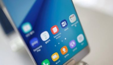 Samsung Phone Fire in China