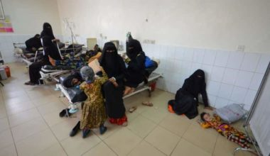 The Cholera Epidemic in Yemen is Spiralling Out of Control