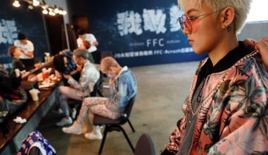 """This all-girl """"boy band"""" is shaking up gender norms in China"""