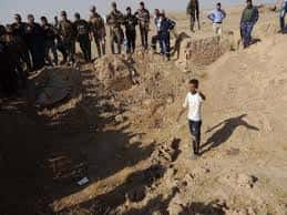 Traces of Daesh 'Mass Grave'