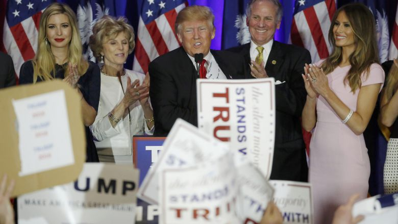 Trump Takes South Carolina