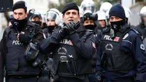 Turkish Police Detain Nearly 100 People