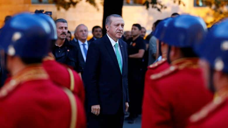 Turkish President Gains Upper Hand