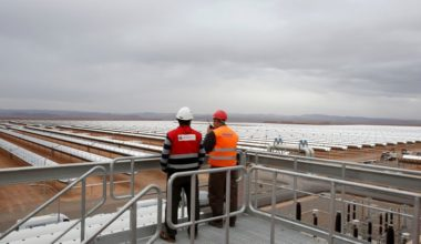Moroccan Solar Power Plant