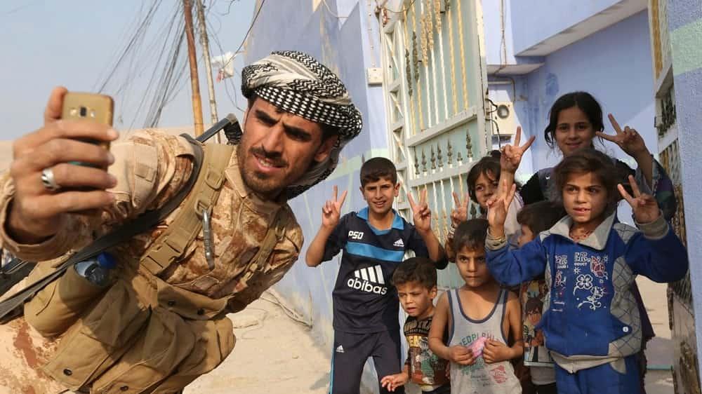 Iraqi Army Tries