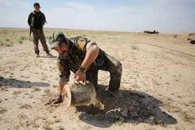 In Remote Corner of Iraq