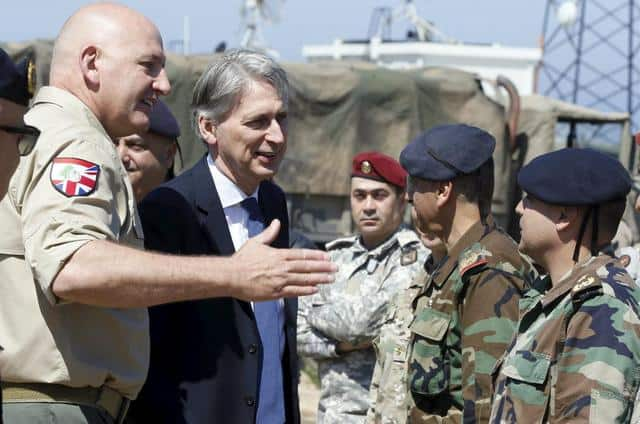 Lebanese Army Gets U.S., British Aid