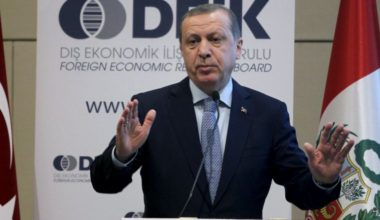 turkeys erdogan chastises u s over support for syrian kurds
