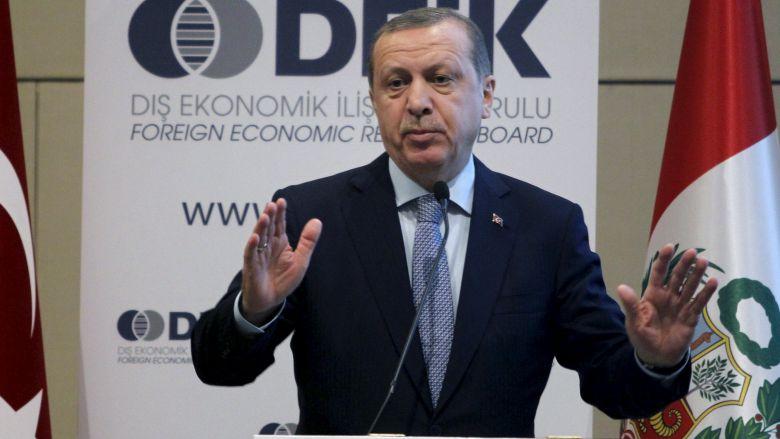turkeys erdogan chastises u s over support for syrian kurds