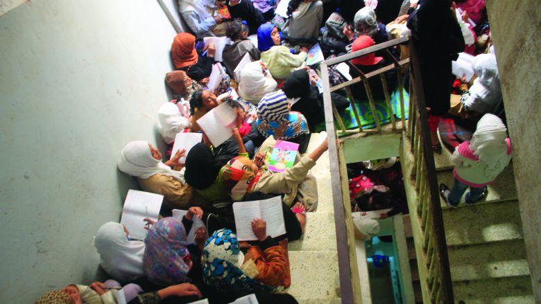 Yemen Stairwell Lessons