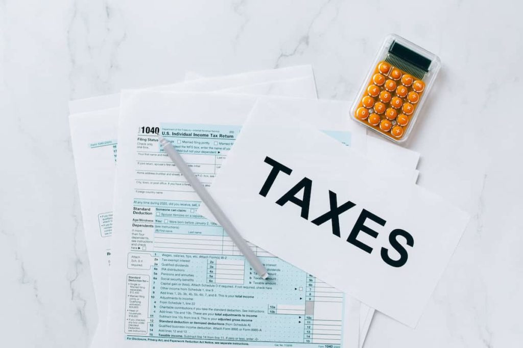 Budget for Taxes