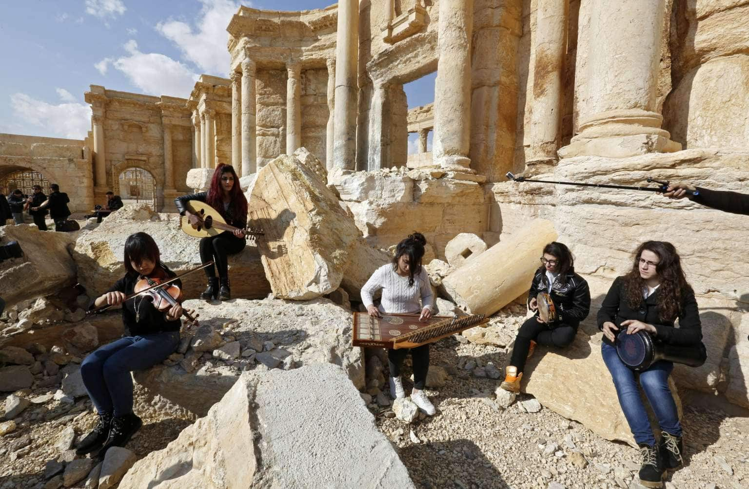 Daesh Driven Out of Syria's Ancient Palmyra City