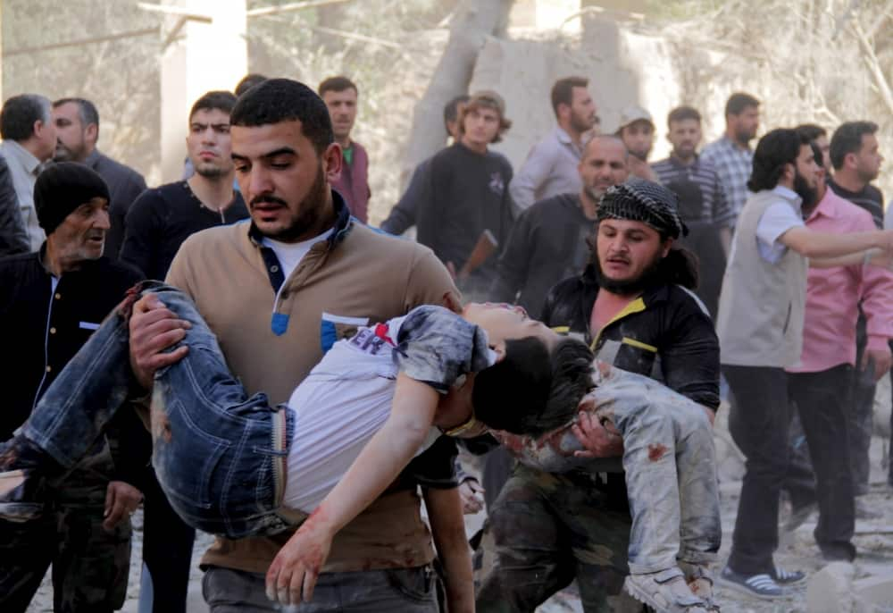 Syrian Rebel Group Say They Are Investigating Child Beheading Video