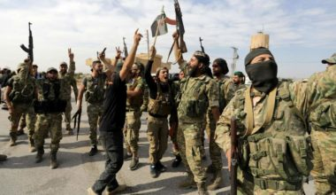 Syrian Rebels Advance Against Daesh Near Turkish Border