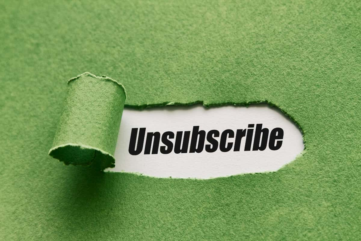 Have A Visible Unsubscribing Link