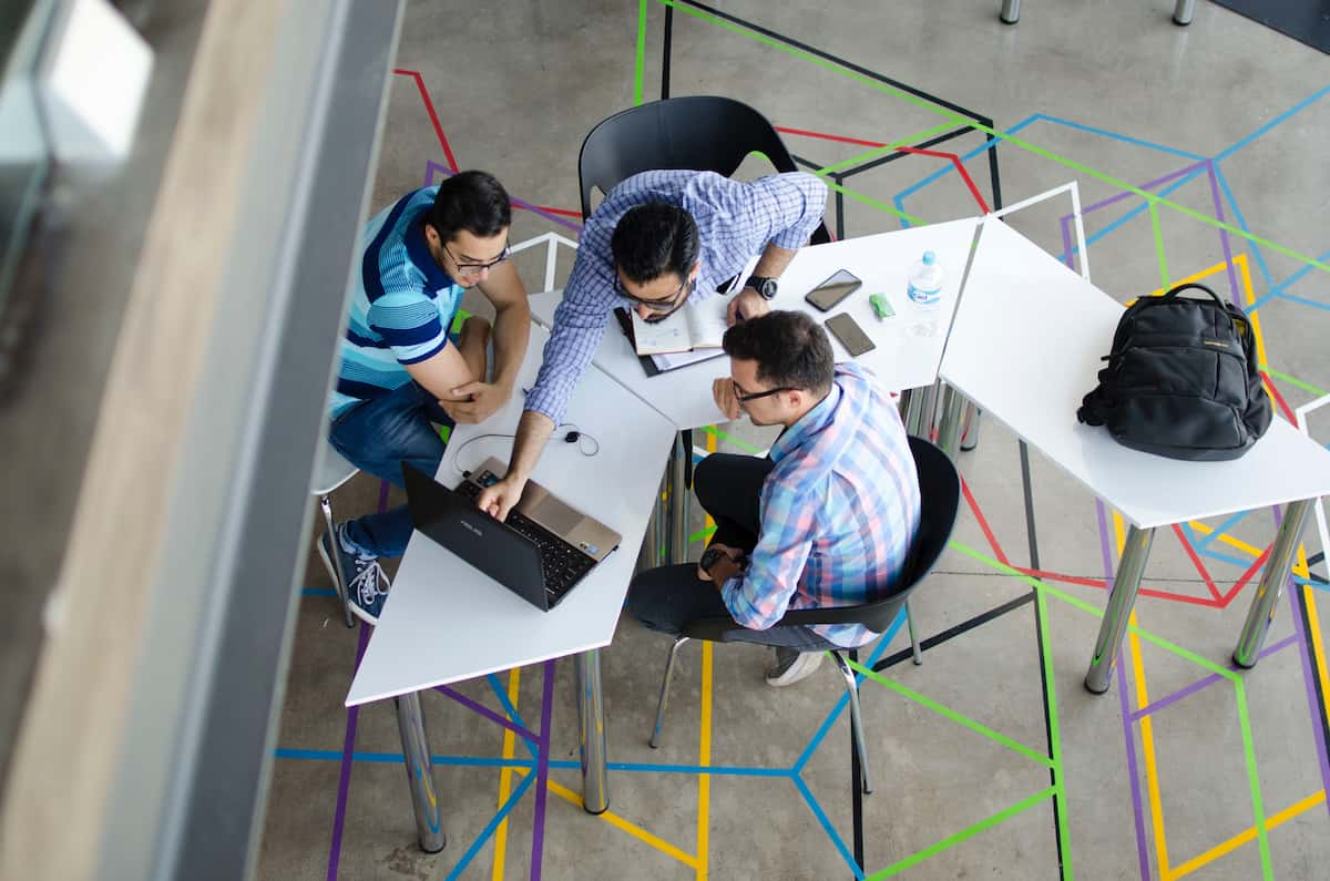co-working spaces can help you out