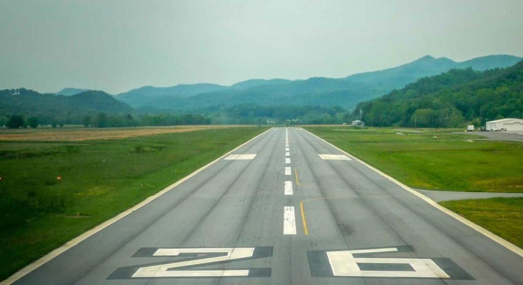 Flying to and from smaller airports